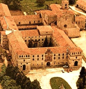 Monasterio de San Pedro de Cardeña, en la cercanía de la ciudad de Burgos