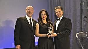 El Presidente de Ribera del Duero, la Consejera de Agricultura y Michael Schachner, editor de Wine Enthusiast.