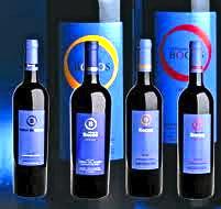Los cuatro vinos de la gama de tintos de Señorio de Bocos.