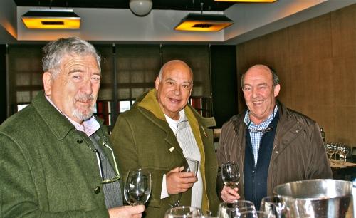De izq. a der.: José Luis Lejonagoitia, Jose Mari Morales y Basilio Izquierdo