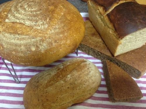 Otra muestra de pan artesano de José Luis
