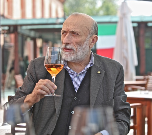 Carlo Petrini, founder of Slow Food and Slow Wine.