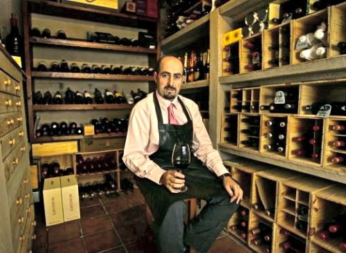 Ignacio Echapresto. Restaurante la Venta de Moncalvillo en Daroca. La Rioja. © Justo Rodríguez 21/10/2010TFGP.
